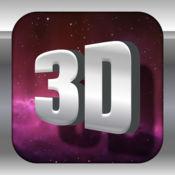3D 文字制作-三维立体字体制作,可做视频电影片头 1