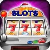 老虎机 - 炫7的槽轮:赌场玩幸运的5排大奖机锦标赛