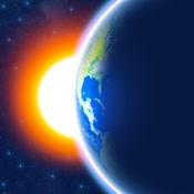 3D地球 - 天气小工具,世界时钟和中国预报图