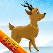 驯鹿赛跑和跳跃敏捷障碍赛:训练圣诞节 - 免费