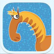 动物迷宫:为孩子们2免费教育应用 -  4年,大象,狮子,树木,狐狸,兔