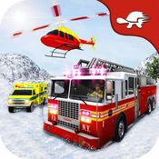救援运行:越野雪应急英雄