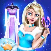 服裝設計遊戲 – 冰公主游戏: 设计自己的时尚服装 1