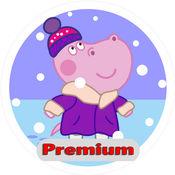 孩子手工:雪花. Premium