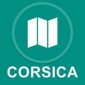 科西嘉岛,意大利 : 离线GPS导航