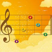 宝宝的第一个音乐五线谱游戏