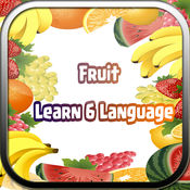 水果 - 婴儿学校着色闪存卡记忆测验的学习游戏。