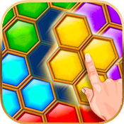 六边形宝石方块六角拼图