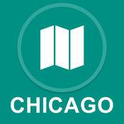 伊利诺伊州芝加哥 : 离线GPS导航