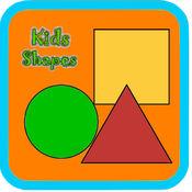 儿童学龄前学习形状 1