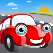 儿童拼图 教我汽车卡通:学习车怎么驾驶,飞机怎么飞行,火车怎