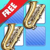 免费 记忆游戏 乐器 照片 2.5