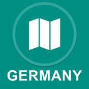 德国 : 离线GPS导航 1