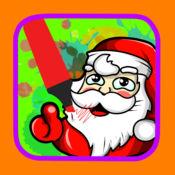 卡通绘画和绘图圣诞节着色 1