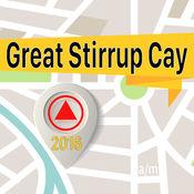 Great Stirrup Cay 离线地图导航和指南 1