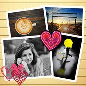 照片拼图拼贴 – 图片相片处理编辑美化和组合工具 1