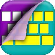 习俗 键盘 - 键盘 颜色 主题 同 闪光 背景 和 字体 1