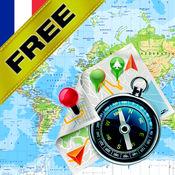 法国 - 离线地图和GPS导航仪 无偿地 1.8