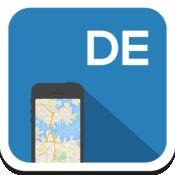 德国 离线地图,指南,天气,酒店。免费导航。GPS 1