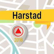 Harstad 离线地图导航和指南 1