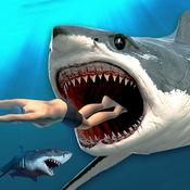 杀手鲨鱼狩猎:饥饿鱼Evo冒险 1
