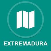 埃斯特雷马杜拉,西班牙 : 离线GPS导航 1