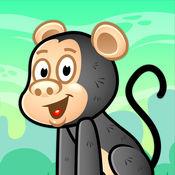 Cartoon Chimp Bubble Popper - FREE - 多层次的森林探险