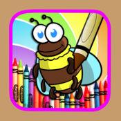 游戏错误彩页为孩子绘画设计 1