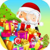 隐藏的对象搜索: 圣诞老人的白色圣诞神秘对象 : Hidden Ob