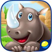 学习动物和动物的声音为幼儿和孩子 1