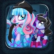 小马 装扮 时尚 游戏 和 可爱 沙龙 为 女孩 自由 Littlest