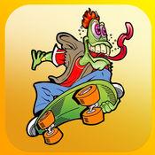 怪物滑板高中 - 对于孩子们!滑板学校跑! 1.31
