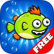 Super Splashy Fish Crush : Flappy Parrot-飞扬的小鸟支