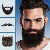 胡须和小胡子虚拟理发店 – 滑稽照片应用程序更改样式免费