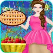 烹饪苹果派厨师食品制造商孩子女孩游戏 5
