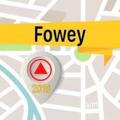 Fowey 离线地图导航和指南 1