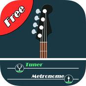 贝斯调音器和节拍器免费 - bass tuner tools 1.1