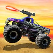 怪物卡车越野射击 - 顶级赛车游戏 1