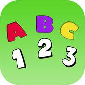 了解ABC免费:教育要写字母,数字和英语单词 1