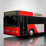 大市公交车司机模拟器2016年:3D教练驾驶和停车游戏学院 1