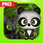 熊貓 戰鬥 像寵物 功夫 遊戲的孩子 遊戲的戰鬥. Fury Pand