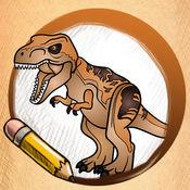 学画画的LEGO侏罗纪世界 1