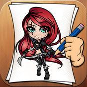 学画画LOL英雄 1