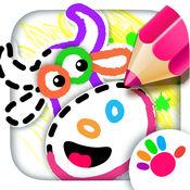 来画自己的动画片!小孩子畫畫兒 !教学儿童游戏!免费 1.0.9
