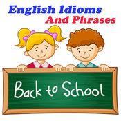 Practice Idioms with examples sentences 儿童英语游戏 1
