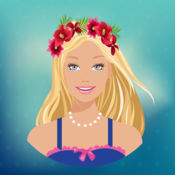花冠美发沙龙 – 最好的照片编辑器同碎花发型和头饰品 1