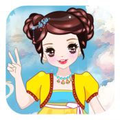 唯美古代公主-经典女孩子的小游戏免费 1