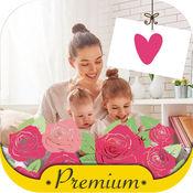 母亲节日温馨祝福贺卡制作相框相机让妈妈咪知道你的爱– P