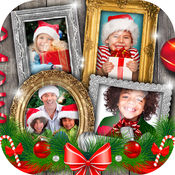 圣诞 照片 拼贴  2