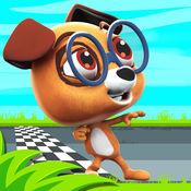 狗赛跑 游戏 - ...